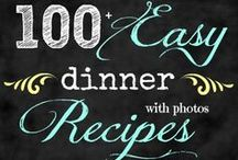 Easy Dinner Ideas / This board is chalk full of easy dinner ideas.  What's cooking for supper will never be a problem again.