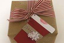 Gifts: Present Presenting / Gift Wrapping, Envelope Addressing, Bow Making and Gift Ideas / by Kelly Yale
