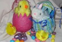 Crafty: Easter Crafts / Easter crafts, both secular and Christian, for all ages.