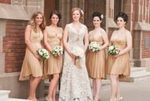 Bridesmaids Dresses / Short, Long, Elegant, Casual... Search Tinted Wedding's inspiration board for just the right dress / by Tinted Wedding