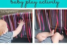 Baby Play activities / baby play ideas. baby sensory activities. recipes for play suitable for babies