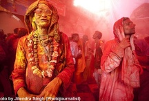 A Glimpse of Barsana Holi- Incredible India / Originally associated with religious events, Holi today is a festival of riotous color and festivity that is celebrated with much enthusiasm in the month of Phalgun, which usually corresponds to March on the Julian Calendar. Holi marks the arrival of spring and the bright colors represent energy, life, and joy. Photojournalist JITENDRA SINGH brings these captivating images from Barsana, Nandgaon and Mathura.
