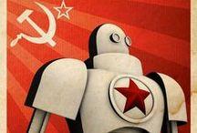 Propaganda Posters / love propaganda! :)