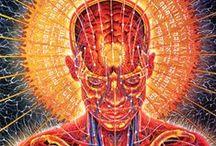 Spiritual art / Art filled with spirituality