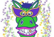 Mardi Gras / Mardi Gras masks, crafts, decorations, recipes, party games, costumes and coloring pages.
