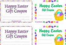 Printables: Gift Coupons / Lots of free DIY printable gift coupons, checks and IOUs for all occasions. Love coupons, backpack notes, little personalized gifts to tuck into a card. Find an instant gift or party favor here, as a print and personalize love coupon, fun check or gift certificate.
