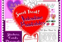 Crafty: Valentines Day / Valentine crafts and templates for making the sweetest gifts, cards and treats with a romantic or playful love theme