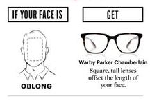 Frame Styling / Here you will find tips on which type of frame will best suit your facial features and how to look fashionable in your new glasses!