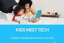 Kids Meet Tech / Every family's different when their #KidsMeetTech. We surveyed parents to find out how and when they introduce tech to their kids. Share your stories, opinions and tips with #KidsMeetTech and find out how to protect your tech with Logi BLOK at http://logt.ly/KidsMeetTech. / by Logitech