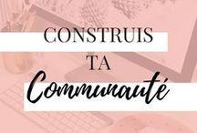 CONSTRUIS TA COMMUNAUTÉ / BIENTÔT DISPONIBLE