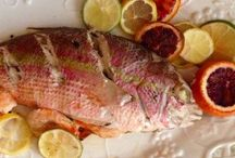 Baja Mexican Fish Recipes / Fresh Mexican fish recipes, Baja fish recipes, fish tacos, Baja fish tacos, seafood recipes, red snapper recipes, salmon, halibut, yellowtail, tuna, ahi tuna recipes. Grilling, baking and steaming fresh fish.
