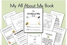 All About Me Unit....September / by Carla M.