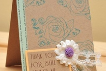 Cards and Papercrafting AWESOMENESS!! / by Tenia Nelson