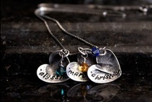 Silver Fingerprint Necklaces / fingerprint and baby toe print. sweet! / by Debbie Cornelius