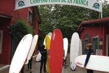 Surf Asturias / Asturias se ha convertido en un destino ideal para la práctica del surf. Ven a comprobarlo / by Camping Playa de la Franca Bungalows-Asturias