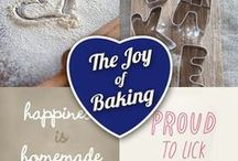 The Joy of Baking / This board is for everything we LOVE about baking: funny sayings, baking humour, books, our loved ones helping us out in the kitchen… We can't name one thing that isn't fun about #baking :)