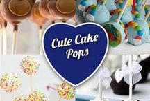 Cute Cake Pops / by I Love Baking SA