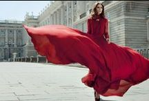 | red | / fashion in red / by Lisa Natasha