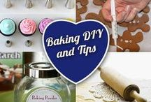 Baking DIY and Tips / A board dedicated to helping you improve your baking with fun ideas and tips!