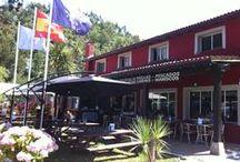 Cafetería y restaurante del camping / by Camping Playa de la Franca Bungalows-Asturias