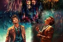 """*** """"Just... the Doctor""""*** / """"The universe is big. It's vast and complicated and ridiculous. And sometimes, very rarely, impossible things just happen and we call them miracles."""" — The Doctor / by Maya :)"""