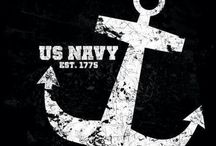 The United States Navy ⚓ / In Honor of my son-in-law. I love him and am very proud of him!! / by Kelly Ernst~Schindler