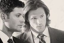 *Supernatural-Carry on my wayward son! <3* / Cass, Dean, Sem, etc.... I ADORE THIS !!! / by Maya :)