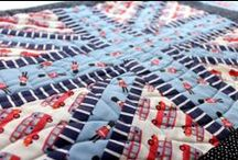 London Calling by Jack and Lulu / The Union Jack is back, and we're feeling jolly good about it. Jack and Lulu are at it again, bringing iconic English images to fabric with their brand new collection London Calling for Dear Stella! / by Dear Stella