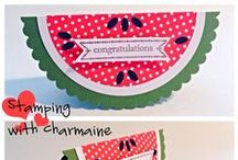 My Stampin' Up Creations / This is a collection of the cards and projects I have personally created using Stampin' Up products.
