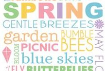 SPRING! / tips for spring cleaning (donating!), decorations, diy clothes, local activities