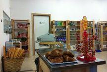 Minimarket Camping Playa de La Franca (Asturias-Spain) / Pan, leche, huevos, bebidas, fruta....un poco de todo en el minimarket de nuestro camping / by Camping Playa de la Franca Bungalows-Asturias