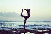yoga inspiration / Inspiring yoga poses and scenes.