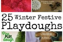 "Winter....Playdough & Other Art ""Recipes"""