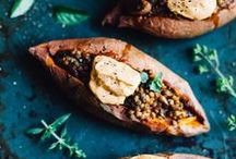 vegan recipes / Fresh and healthy vegan recipes! Find meat-free, dairy-free, egg-free meals here. / by Cookie and Kate