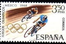 Stamps | Mexico City 1968 / Stamps from my personal collection that issued for the Games of the XIX Olympiad http://en.wikipedia.org/wiki/1968_Summer_Olympics