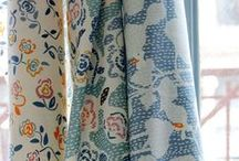 Asuka / Simple dashed lines and graphic pop floral prints echo the elegant yet playful spirit of Asuka. You'll find a modern mix of crisp colors in this collection – think: cream, mustard, orange, and shades of blue. We can't wait to see what you make!  / by Dear Stella