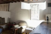 Studios & workspaces / Inside the artist's space / by Carolyn Cho