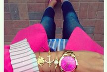 Pink blazer outfits