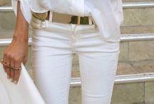 Aaaa white trousers