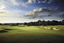 Chart Hills Golf Club, England / Biddenden, County Kent, England. Championship Golf Course. Designed in Collaboration with Sir Nick Faldo. Opened in 1993. Hosted Ladies European Tour Ford Ladies Open and European PGA Tour Qualifiers.