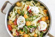 veggie pastas / Fresh, vegetarian pasta recipes!