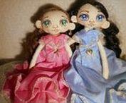 Puppen, Dolls, Bábiky a Panenky / Panenky s duší. Šité a malované ručně... s láskou