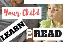 Reading and Writing For Kids / Reading and writing tips and encouragement for kids.  Literacy ideas and help!