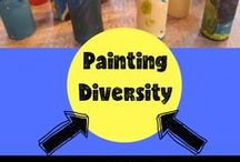 Teaching Diversity / Ideas and tips for teaching kids diversity.