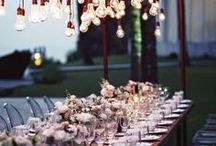 Wedding Lighting / Ideas to make your day shine
