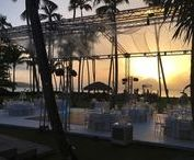 Sunset weddings / Stunning view over the ocean...sunset in the background...beautiful villa...What do you want more?