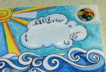 Envelope art  for snail mail / Create gorgeous artworks on letters you send to you pen pal!