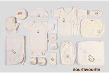 Naonaokids / Prepara tu canastilla de regalo con Naonaokids. Ropita para bebé de algodón orgánico.