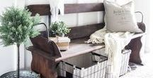 Farmhouse Decor / The cutest rustic and simple farmhouse decor for you home!