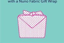How To Nuno / Learn how to wrap and tie Nuno's awesome fabric gift wraps